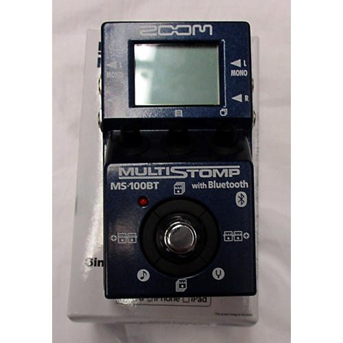 Zoom ZMS100BT Multistomp With Bluetooth Effect Processor-thumbnail