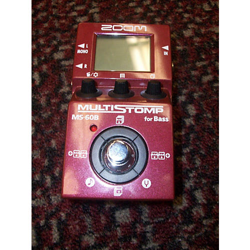Zoom ZMS60B Multistomp Bass Bass Effect Pedal-thumbnail