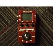 Zoom ZMS60B Multistomp Bass Bass Effect Pedal