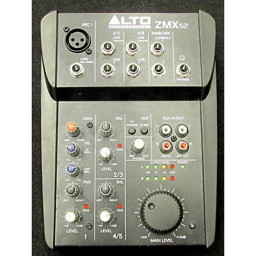 Alto ZMX52 5-Channel Unpowered Mixer