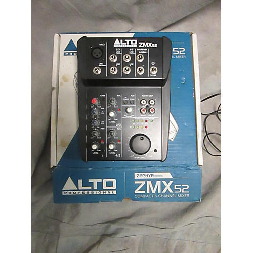 Alto ZMX52 5-Channel Unpowered Mixer-thumbnail