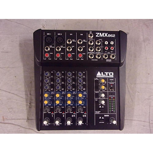 Alto ZMX862 6-Channel Unpowered Mixer-thumbnail