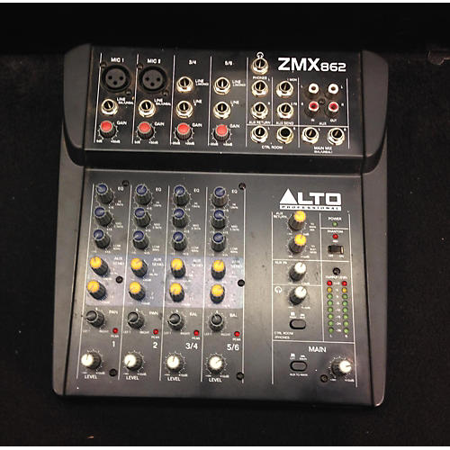 Alto ZMX862 6-Channel Unpowered Mixer