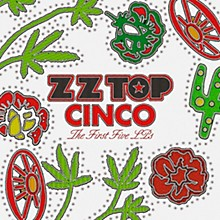 ZZ Top  - Cinco:  The First Five LPs (5 LP 180 Gram Vinyl)
