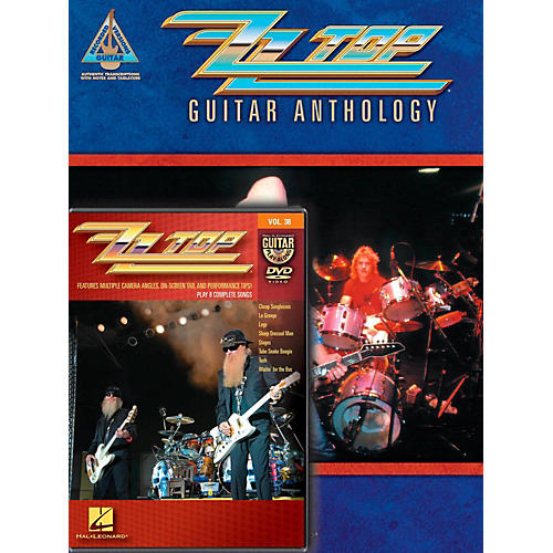 Hal Leonard ZZ Top Guitar Pack Book/DVD-thumbnail