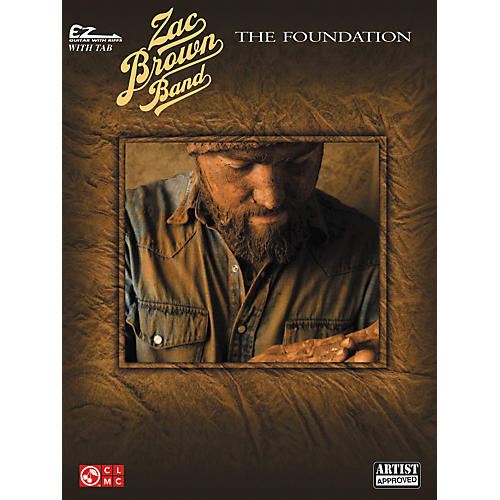Cherry Lane Zac Brown Band-The Foundation Easy Guitar Tab-thumbnail