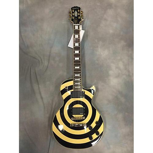 Epiphone Zakk Wylde Bullseye Les Paul Custom Plus Solid Body Electric Guitar-thumbnail