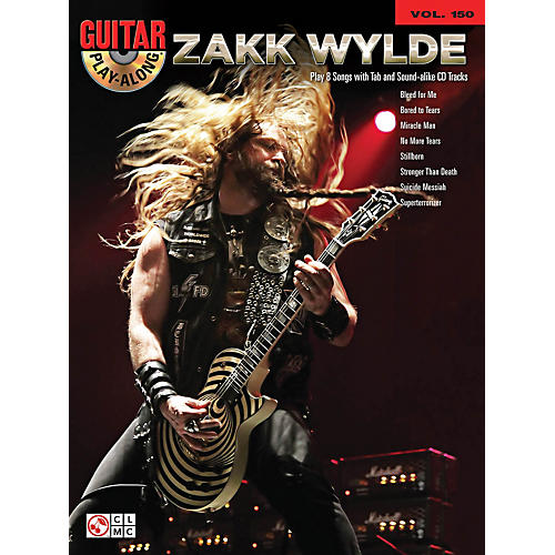 Cherry Lane Zakk Wylde Guitar Play-Along Volume 150 Book/CD
