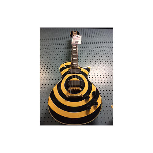 Epiphone Zakk Wylde Signature Les Paul Deluxe Solid Body Electric Guitar-thumbnail