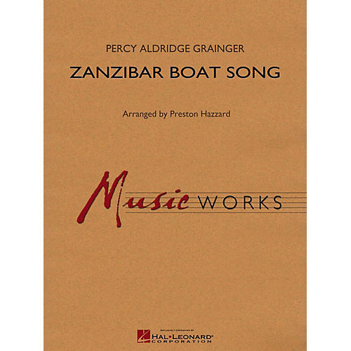 Hal Leonard Zanzibar Boat Song Concert Band Level 4-thumbnail