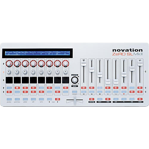 novation zero sl mkii keyboard controller guitar center. Black Bedroom Furniture Sets. Home Design Ideas