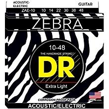 DR Strings Zebra Lite Acoustic-Electric Guitar Strings