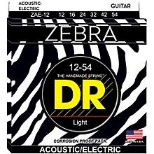 DR Strings Zebra Medium Acoustic-Electric Guitar Strings
