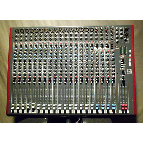 used allen heath zed 24 unpowered mixer guitar center. Black Bedroom Furniture Sets. Home Design Ideas