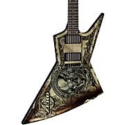 "Zero Dave Mustaine ""In Deth We Trust"" Electric Guitar"