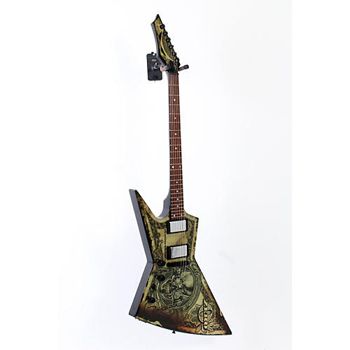 Dean Zero Dave Mustaine In Deth We Trust Left-Handed Electric Guitar  888365217550