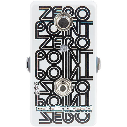 Catalinbread Zero Point Tape Flanger Guitar Effects Pedal-thumbnail