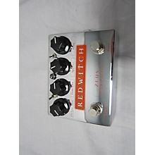 Red Witch Zeus Bass Effect Pedal