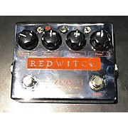 Red Witch Zeus Effect Pedal