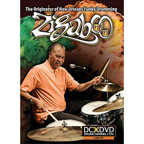 The Drum Channel Zigaboo Modeliste The Originator of New Orleans Funky Drumming DVD-thumbnail