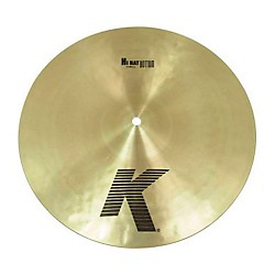 "Zildjian 14"" K Custom Dark Hi-Hat Bottom Cymbal (K0945)"