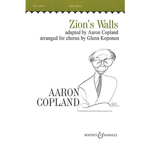 Boosey and Hawkes Zion's Walls (Revivalist Song) TTBB arranged by Glenn Koponen