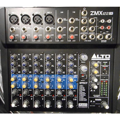 Alto Zmx122fx Unpowered Mixer