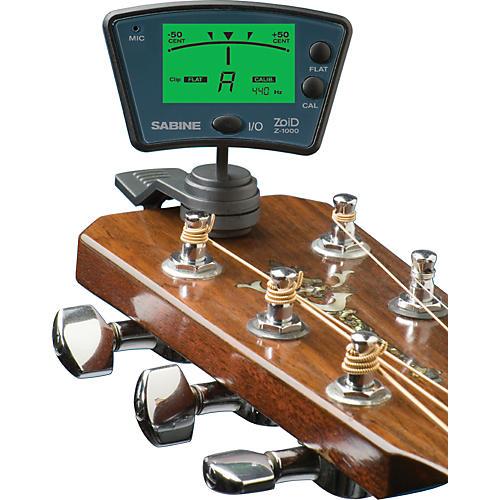 Sabine Zoid Clip-On Tuner for Stringed Instruments-thumbnail