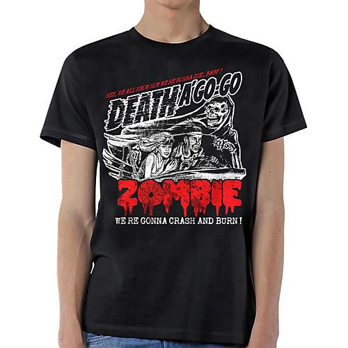Rob Zombie Zombie Crash T-Shirt Small Black