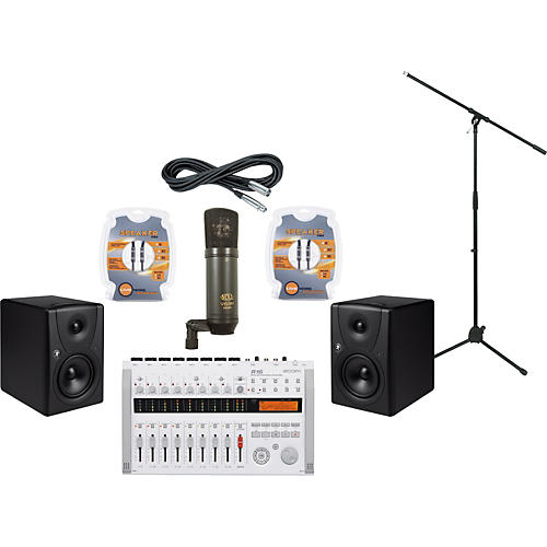Mackie Zoom R16 and Mackie MR5 Recording Package-thumbnail