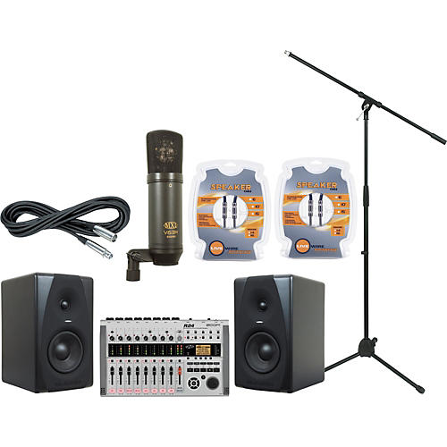 M-Audio Zoom R24 and M-Audio CX5 Recording Package