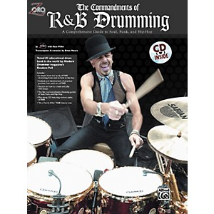 Alfred Zoro Commandments of R'n'B Drumming Book/CD by Alfred