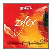 D'Addario Zyex 4/4 Viola String G Medium Scale Aluminum