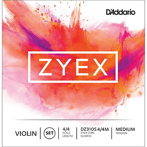 D'Addario Zyex Series Violin String Set-thumbnail