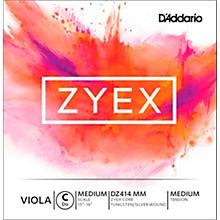 D'Addario Zyex Viola String G Medium Scale 4/4 Silver