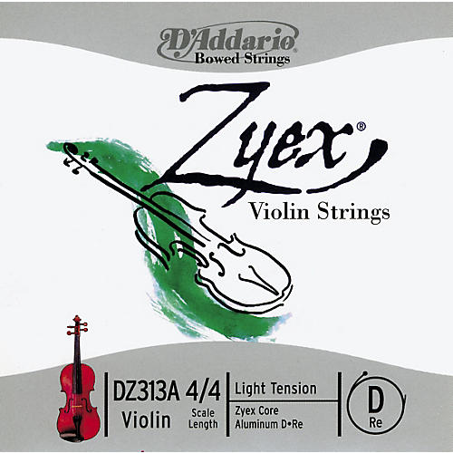 D'Addario Zyex Violin Strings-thumbnail