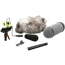 DPA Microphones d:dicate 4017C Compact Shotgun Microphone with Ryocote Windshield
