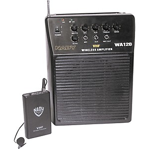 Nady-WA-120-Portable-PA-System-with-Wireless-Omni-Lavalier-Mic-Channel-A