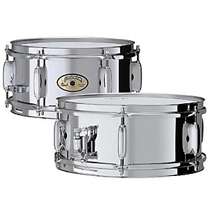 Pearl-Steel-Firecracker-Snare-Chrome-10x5-Inches