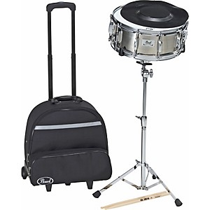 Pearl-SK-800CH-Snare-Drum-Kit-with-Rolling-Cart-Standard