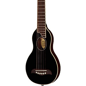Washburn-Rover-Travel-Guitar-Black