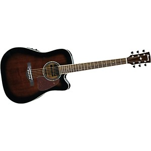 Ibanez-AW300ECE-Artwood-Solid-Top-Dreadnought-Cutaway-Acoustic-Electric-Guitar-VINTAGE-SUNBURST