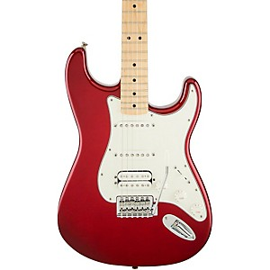 Fender-Standard-Stratocaster-HSS-Electric-Guitar-Candy-Apple-Red-Gloss-Maple-Fretboard