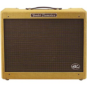 Fender-Eric-Clapton-Signature-EC-Tremolux-12W-1x12-Hand-Wired-Tube-Guitar-Combo-Amp-Tweed