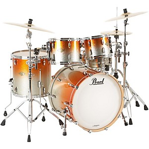 Pearl-MCX924-Masters-Custom-4-Piece-New-Fusion-Shell-Pack-Orange-Sparkle-Fade