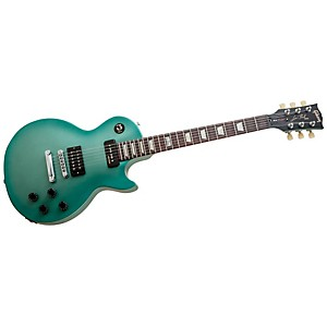 Gibson-2014-Les-Paul-Futura-Plain-Top-Electric-Guitar-Inverness-Green-Vintage-Gloss