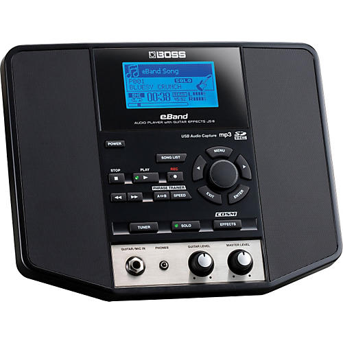 Boss eBand JS-8 Audio Player with Guitar Multi Effects-thumbnail