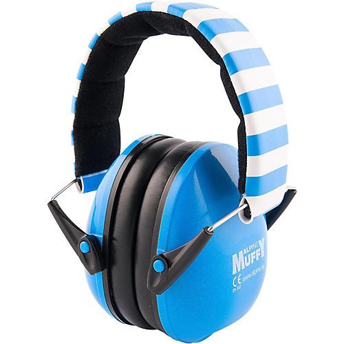 Alpine Hearing Protection (ea) Earmuffs for kids (Blue)