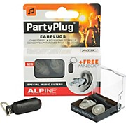 Alpine Hearing Protection (ea) Single-filter Universal Earplugs (Clear)