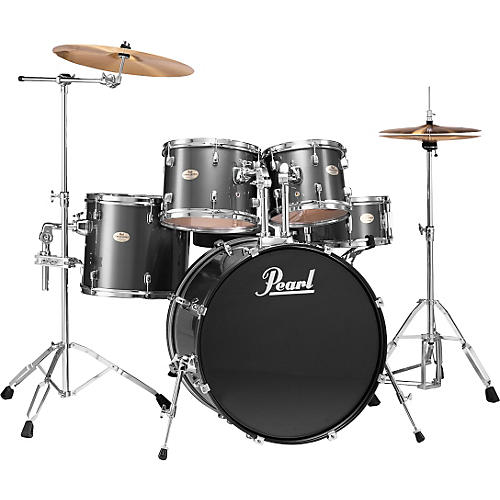 Pearl forum Fusion 5-Piece Drum Set (Discontinued 2004 Model)-thumbnail